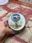 Vintage Murano Glass Detailed Hot Air Balloon Paperweight