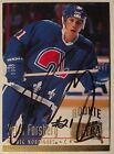 1994-95 Ultra Nordiques Rookie Autographed Hockey Card #356 Peter Forsberg Auto