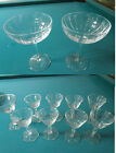 CHAMPAGNE 2 TALL SHERBET WINE GLASSES BY ASTRAL STAR OF DAVID GOBLETS PICK ONE