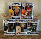 Funko Pop Big Bang Theory Set Of 5 SDCC 2019 Exclusive In Hand + Protectors