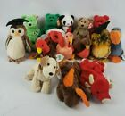 Vintage Ty Beanie Babies Lot of 14 Retired some w/Tag Protectors