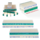 3 Type DIY English Alphabet Letters Number Rubber Stamp Free Combination Craft