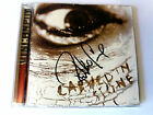 VINCE NEIL - Carved In Stone (Warner Bros.45877-2) signed by Robbie Crane (bass)