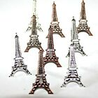 EIFFEL TOWER BRADS France Vacation Travel Scrapbooking Card Making Stamping