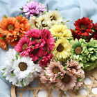 6PCS Lot Artificial Gerbera Daisy Fake Silk Flower Home Party Wedding Home Decor