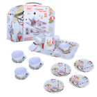 Curious Tin Tea Set Pretend Toy Dishes by Schylling Kids Pretend Tea Party US ST