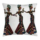 East Urban Home African Woman Native Costumes Square Pillow Cover