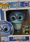 Funko Pop Disney # 133 - Inside Out - Sadness - 2015 Summer Convention Exclusive