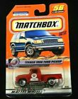 MATCHBOX Texaco 1956 Ford Pickup Red Truck Jimmys Auto Service Mint
