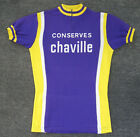 Cycling T Shirt Old Vintage Jersey Maglia Shirt  Preserves Ankle  Retro