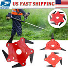 3 4 5 6 Tooth Blades Razors Lawn Mower Weed Eater Trimmer Head Brush Cutter Tool