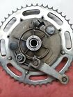 AERMACCHI AMF HARLEY DAVIDSON SX,SS 175,250 REAR BRAKE DRUM ASSY, SPROCKET