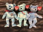 Ty Beanie Baby Bears - Santa Maria, Nina and Pinta (set of 3) MWMT