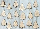 Pine Christmas Trees Sign Cabin Unfinished Wood Cutout Cut Out Shapes ALL SIZES
