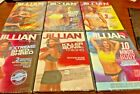 Lot of 6 Jillian Michaels Exercise Workout DVDs New SEALED