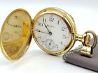 18k Gold 1905 Hampden The Four Hundred ANTIQUE Pocketwatch 1000 EVER MADE