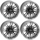 4 ATV/UTV Wheels Set 14in Quadboss Stryker Gray 4/110 5+2 IRS