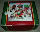 MINT 2003 Fisher Price Little People Christmas on MAIN ST w Box + EXTRAS