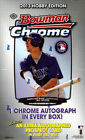 2013 Bowman Chrome Baseball Hobby Box FACTORY SEALED