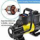 Heavy Duty Portable Air Compressor Car Tire Inflator Electric Pump Auto 12V