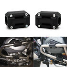 2x 25mm Motorcycle Engine Frame Bar Protection Guards Ground Crash Slider Pad US