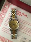 Tudor Prince Oysterdate 74033 34mm Two Tone Watch with Box, Papers and Hang Tag