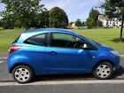 LARGER PHOTOS: 2009 Blue Ford ka Studio 1.2 petrol 3 door for sale NO RESERVE