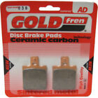 Rear Disc Brake Pads for MZ (MuZ) Skorpion Replica 660 2000 660cc By GOLDfren