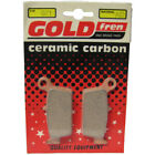Front Disc Brake Pads for Kymco Top Boy 50 1998 50cc  By GOLDfren