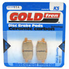 Front Disc Brake Pads for Adly Silver Fox 100 2004 100cc  By GOLDfren