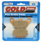 Rear Disc Brake Pads for SYM Joyride 200 2003 200cc  By GOLDfren