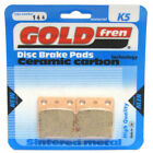 Front Disc Brake Pads for Daelim Cordi 50 2009 50cc  By GOLDfren