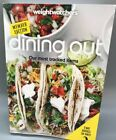 New Weight Watchers Dining Out  Shopping Members Edition 2 Books in 1 2016