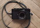 Leica M M9-P 18.0MP Digital Rangefinder Camera - Black (Body only) with strap
