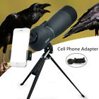 Spotting Scope 25 75X70 Telescope With TripodPhone Adapter For Target Shooting