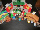 Fisher Price Little People XMAS Santas House Train  Nativity Toy Lot