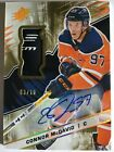 2018-19 UD UPPER DECK CONNOR MCDAVID AUTO PATCH CARD NUMBERED SN # 3 10