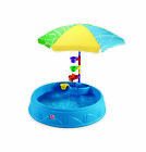 Step2 Play and Shade Kiddie Swimming Pool Durable Poly Plastic Includes And