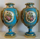 BEAUTIFUL & RARE PAIR OF MEISSEN FLOWER VASES 19TH CENTURY