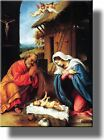 Jesus Christ Baby Nativity Picture on Acrylic  Wall Art Decor Ready to Hang