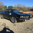 1971 Plymouth Barracuda 1971 Plymouth 528 Hemi Barracuda original 383 car Rotisserie restored