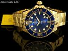 NEW Invicta 47mm Grand Diver Gen II AUTOMATIC BLUE Dial 18K Gold Plated SS Watch