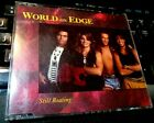 Still Beating by World On Edge (CD 1990 Charisma) dance pop RARE OOP PROMO singl