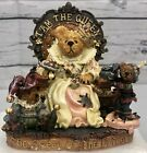 Boyds Bears & Friends Elizabeth with Rosencrantz and Guilderstern I Am The Queen
