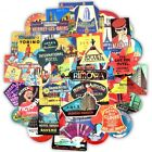 Hotel Vintage Sticker Bomb Pack Lot Retro 80s Travel Laptop Luggage Car Decals