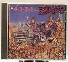 4-3-2-1-The Zeros CD 1991~ Restless Records ~ RARE/OOP
