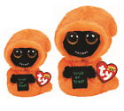 SET of 2 TY Halloween Beanie Boos GRINNER Ghoul (6