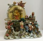 Grandeur Noel Nativity Musical Water Snow Globe Christmas 2000