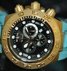 Invicta Rare Men's Subaqua Sport Chronograph Black Dial Blue Poly Watch 1941