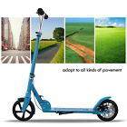 Adult Kick Scooter Foldable Adjustable Height With Disc brake Lightweight